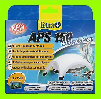 Tetra APS 150 Aquarienluftpumpe white Edition Luftpumpe für 80-150l Aquarium