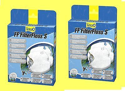 Feinfiltervlies 2 St. FF für Tetra EX Aquarium Außenfilter 400/600/700/800plus