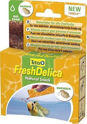 Tetra FreshDelica Daphnien 48 gr. Wasserflöhe in Gelee, 16 Tütchen a 3 gr.Futter