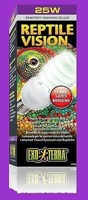 Exo-Terra Reptile Vision Compact Lampe 25W Terrariumlampe sichtb. Reptilienlicht