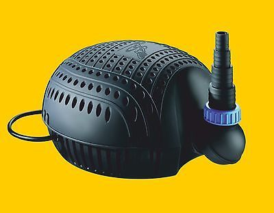 Osaga Teichpumpe schwarze Flunder Eco OSF-6200E Teichfilter u. Bachlaufpumpe Koi