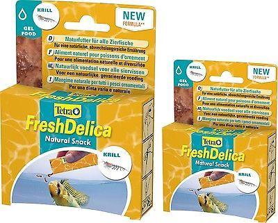 Tetra FreshDelica Krill 2x48 gr Futterspaß in Gelee, prima Frostfutterersatz