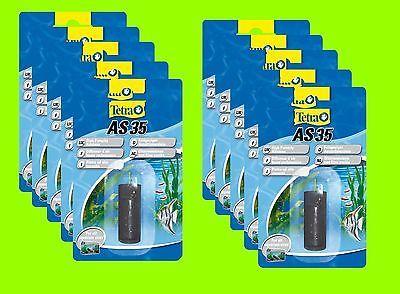 10 Stück Tetra AS 35 Sprudelstein Ausströmerstein m Schlauchanschluß f Belüfter
