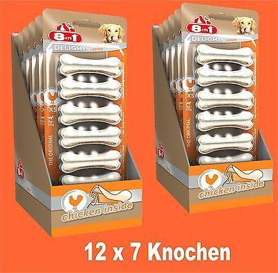 8in1 Delights Strong Kauknochen XS 12x7 St , für stark kauende Hunde Hundefutter