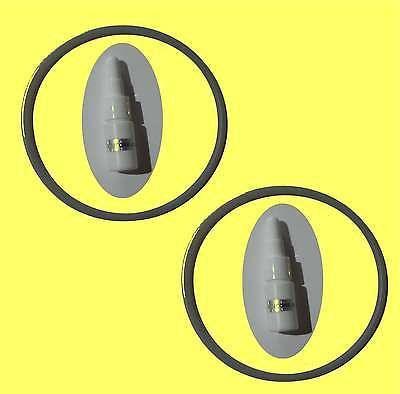 Dichtungsring 2 St. für Tetra EX 400 Aussenfilter Dichtring O-Ring mit Siliconöl