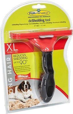 Furminator Langhaar deShedding Größe XL Hundepflege für Hunde über 40 kg