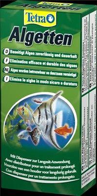 Tetra Algetten 12 Tabl zur Vorbeugung und Langzeitbekämpfung von Algen Aquarium