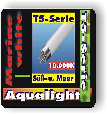 Aqualight Aquarium T5 Neonröhre Süß+See 10.000K 6 Watt