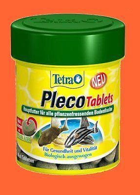 Tetra Pleco Tablets 58 Tab. Futtertabletten Fischfutter Bodentabletten für Welse