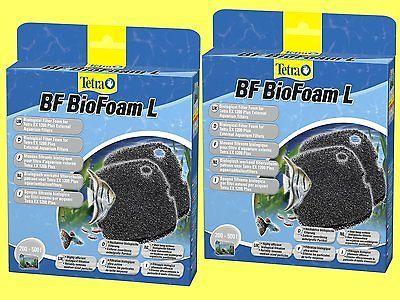 2 Stück BF BioFoam L für Tetra EX plus Außenfilter 1200 biol. Filterschwamm