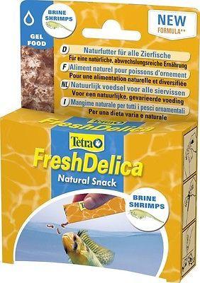 Tetra FreshDelica Shrimps 48 gr. Brine Shrimp in Gelee, auch für Wirbellose