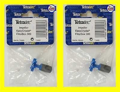 Rotor Impeller Doppelpack Tetra Innenfilter EasyCrystal 300 Filterbox Ersatzteil