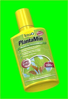 Tetra PlantaMin 250 ml Volldünger für Aquarienpflanzen Mit Depot-Wirkung