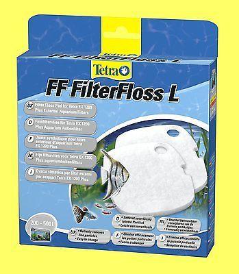Feinfiltervlies FF 1200 für Tetra EX und EX plus Aquarium Außenfilter1200