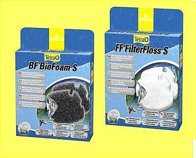 Kombiset BF BioFoam S und FF Filterfloss S für Tetra EX plus Außenfilter 600/800
