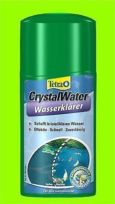 Crystal Water 1 Liter Tetra Pond schafft kristallklares Wasser im Teich