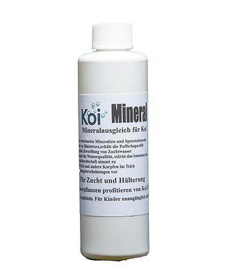 KOI MINERAL 250 ml Mineralien für alle Gartenteiche