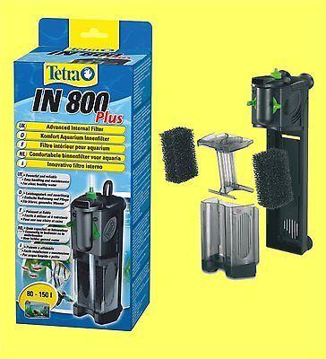 Innenfilter Tetratec IN 800 plus für Aquarium 80-150 Liter Tetra Aquariumfilter