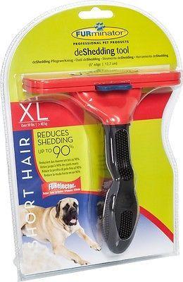 Furminator Kurzhaar deShedding Größe XL Hundepflege für Hunde über 40 kg