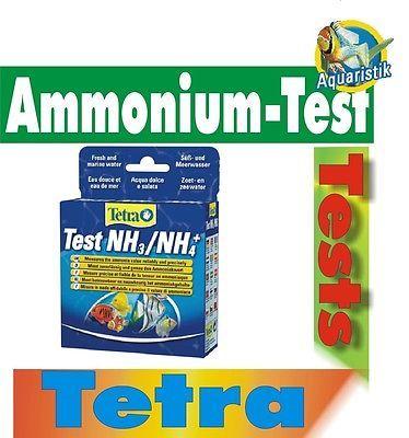 Wassertest Tetra NH3/NH4 Test Ammonium und Ammoniak