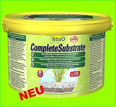 Complete Substrate 5 kg NEU mit Eisendepot Bodengrund Nährboden für 100-120 L