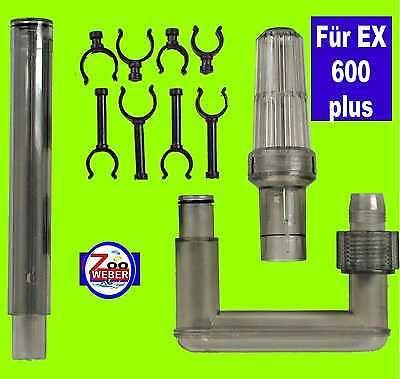 Ersatz Ansaug Set für Tetra Aussenfilter EX 600 PLUS -Tetratec Ersatz Einlaß-Set