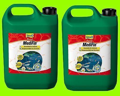 Medifin 2 x 3 l Tetra Pond gegen die meisten Krankheiten im Gartenteich