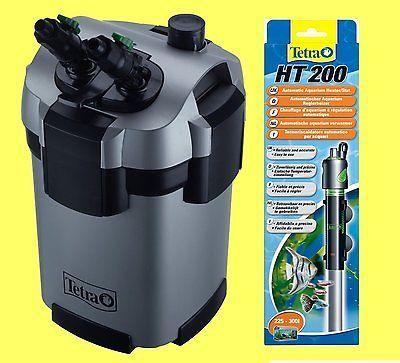 Tetra EX 1200 plus Außenfilter inkl Filtermaterial, PLUS Tetra Regelheizer 200W