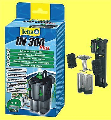 Innenfilter Tetratec IN300 plus für Aquarium 10-40 Liter Tetra Aquariumfilter
