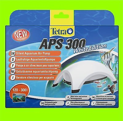 Tetra APS 300 Aquarienluftpumpe white Edition Luftpumpe für 120-300l Aquarium