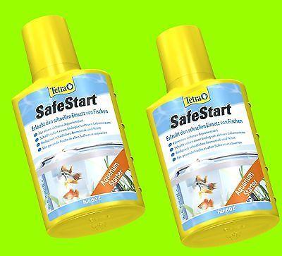 Tetra SafeStart 2x50 ml, sofortiger Fischbesatz, lebende Mikroorganismen, f.120L