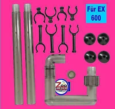 Ersatzteilset Auslass für Tetra Aussenfilter EX 600 Tetratec Ersatz Auslauf-Set