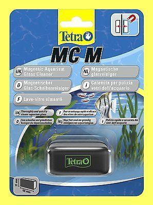 Tetra MC M schwimmender Algenmagnet Scheibenreinigerfür Aquarium bis 5 mm Glas