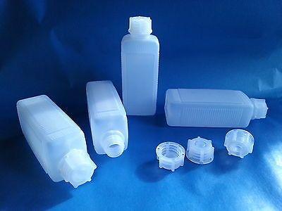 Leerflaschen 15 St 100 ml Plastikflasche inkl. Verschluß PE Kunststoffflasche