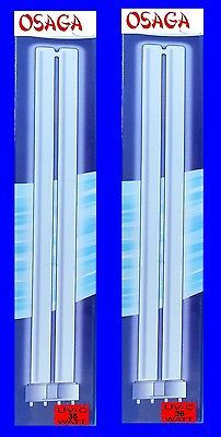 2 Stück UVC Ersatzlampe 24 Watt OSAGA für alle UV-C Klärgeräte UVC Lampe