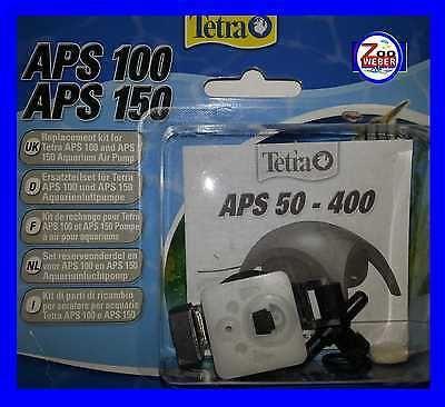 Membran Ersatzteilset für Tetra Lüfterpumpe APS 100 Aquarienluftpumpe Luftpumpe