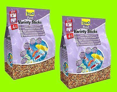 Tetra Pond Variety 2x4 Liter HauptfutterTeichfische Mischung aus 3 Sorten