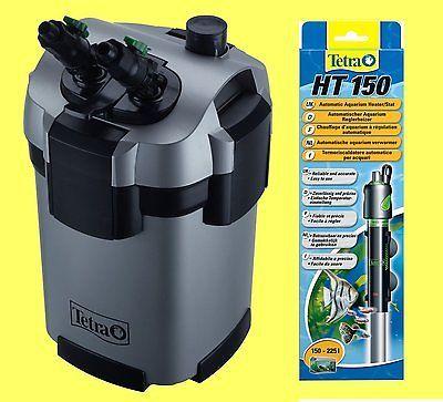 Tetra EX 800 plus Außenfilter inkl Filtermaterial, PLUS Tetra Regelheizer 150W