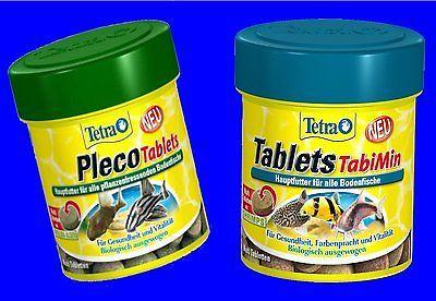 Tetra Tablets TabiMin 275 Tabs und Pleco Tablets 275 Tabs Kombipack Fischfutter