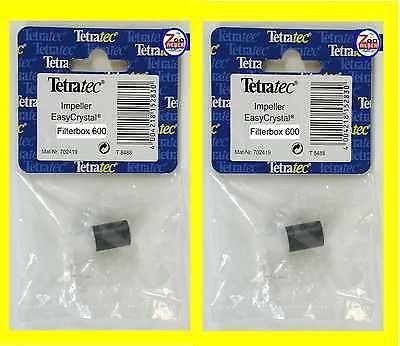 Rotor Impeller Doppelpack f Tetra Innenfilter EasyCrystal 600 Filterbox Ersatzt