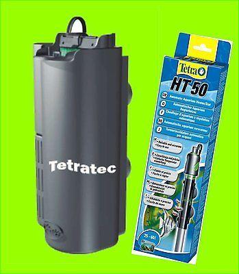 Tetra EasyCrystal FilterBox 250 Innenfilter plus 50 Watt Regelheizer Tetra