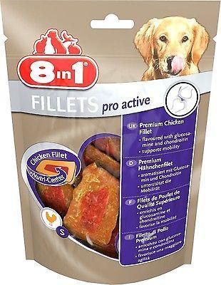 8in1 pro active Fillets 80 gr. Größe S für alle Hunde