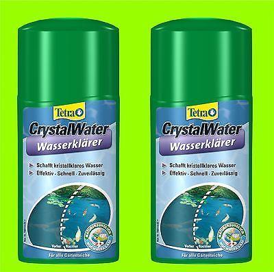 Crystal Water 2x500 ml Tetra Pond schafft kristallklares Wasser im Teich
