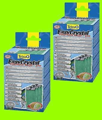 EasyCrystal A 250/300 NEU mit AlgoStop FilterPack 2x3 Kartuschen Tetratec 30-60L