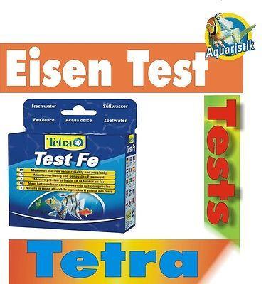 Wassertest Tetra FE Test Eisen Test