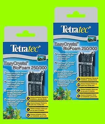 Tetratec 2 x Biofoam für Easycrystal 250/300 biologische Filterung für Tetra